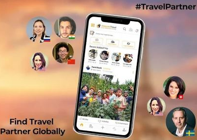 Adequate Travel app to find travel mate